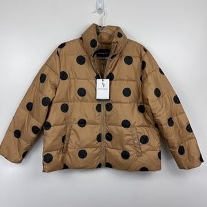 Who What Wear Puffer Coat Sz L NWT